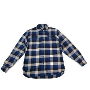 Jachs Shirt Flannel Button Checkered Large Tall